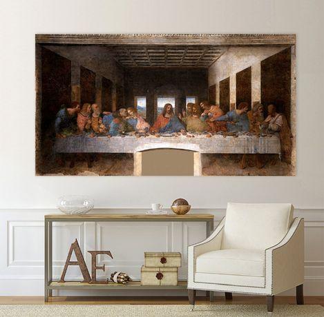 Картина- Тайната вечеря, Леонардо да Винчи, репродукция, канава № 161