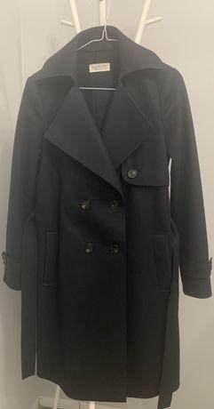 Palton negru lână 88%