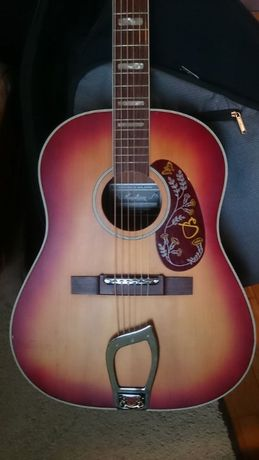 Акустична китара Hagstrom J-45 (Gibson) Made in Sweden 1978