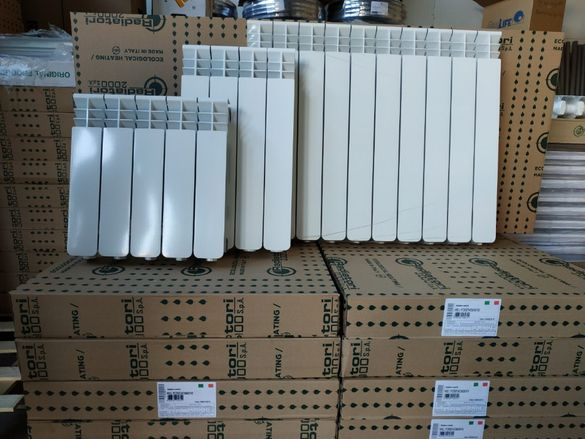 Helyos Н600 Италиански алуминиеви радиатори за водно парно