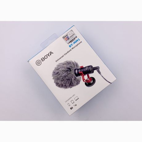 Направленный микрофон для видеокамеры и телефона BOYA BY-MM1 оригинал