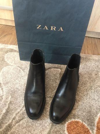 Ghete Zara joase din piele naturala de bovine  100%