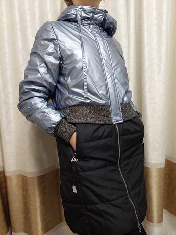 Продам куртку на девочку 10-13лет