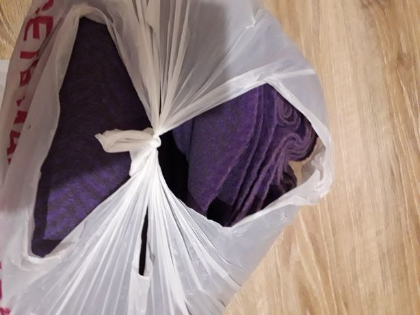 Драп фиолетовый новый
