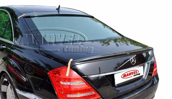 Спойлер заден капак (лип спойлер) тип AMG за Mercedes S class W221