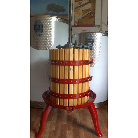 Presa struguri, teasc struguri - fabricate in Italia!