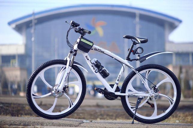 Скоростные велосипеды складные БМВ прямо со склада, титановые диски
