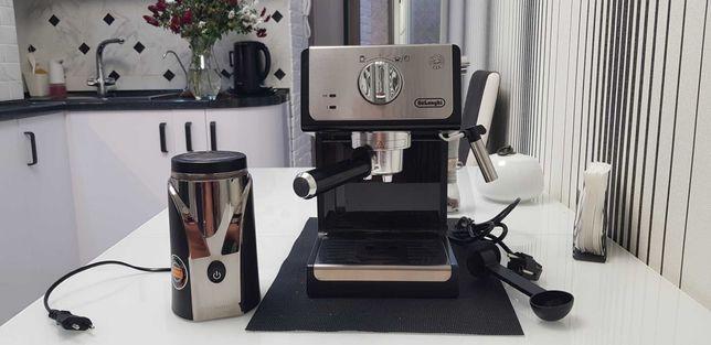 Кофеварка рожкоаая DeLonghi