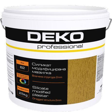 DEKO professional Силикат модифицирана мазилка