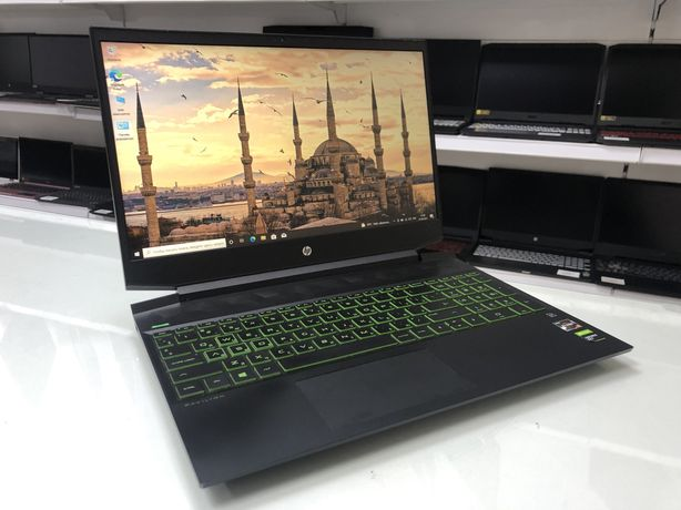 Ноутбук HP Pavilion Gaming - Ryzen 5 3550H/8ГБ/1256ГБ/GTX 1650