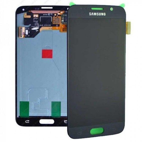 Display Samsung S6 Original AMOLED Montaj pe loc factura Garanție 6lun Bucuresti - imagine 1