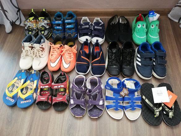 Детски маратонки, патъци, джапанки и топлинки за момче