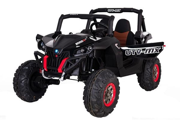 UTV electric Kinderauto Rocker Premium 210W 24V #Negru