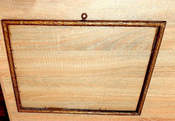 Ретро рамка със стъклото от 50-те години