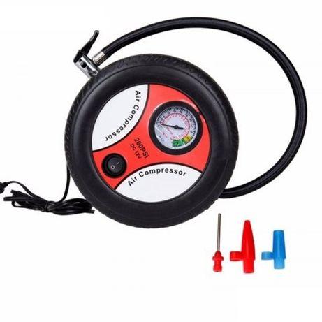 Въздушен компресор 12V за помпане гуми, дюшеци, детски играчки, топки