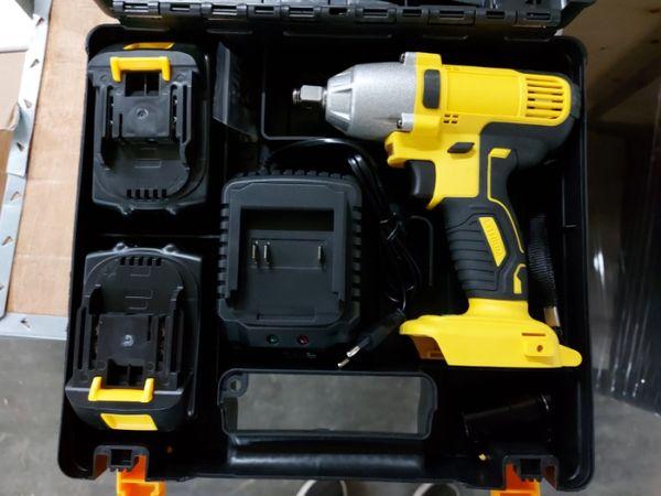 Професионален акумулаторен ударен гайковерт DBL 3-18 безчетков гр. Хасково - image 1