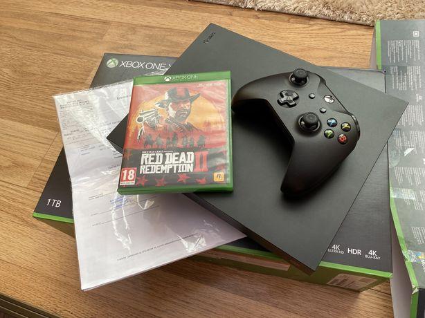 Xbox one X 1 TB Fullbox