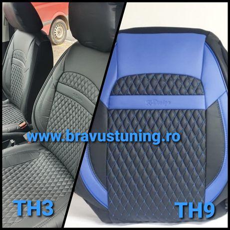 Huse scaun auto Piele Ecologica Kia,Skoda,BMW, Volkswagen,Ford, Seat