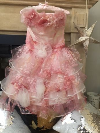 Rochie roz de seara! 100 lei!
