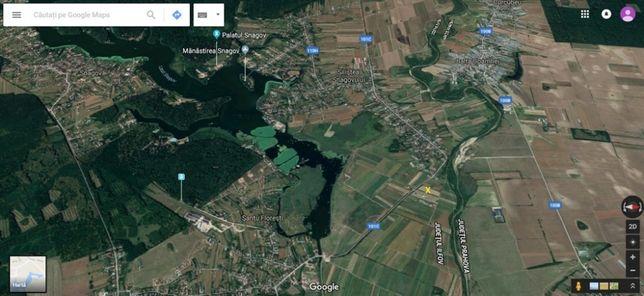 Teren langa Lacul Snagov
