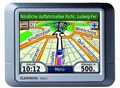 GPS Garmin Nuvi 250, ecran TFT antiglare 320 x 240 pixeli