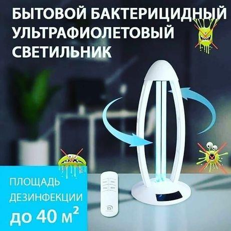 Бактерицидные, кварцевые настольные лампы