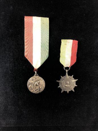 Lot 2 x medalie veche Italia de colectie