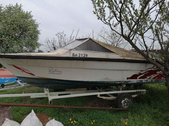 Лодка с колесар (без регистрация)