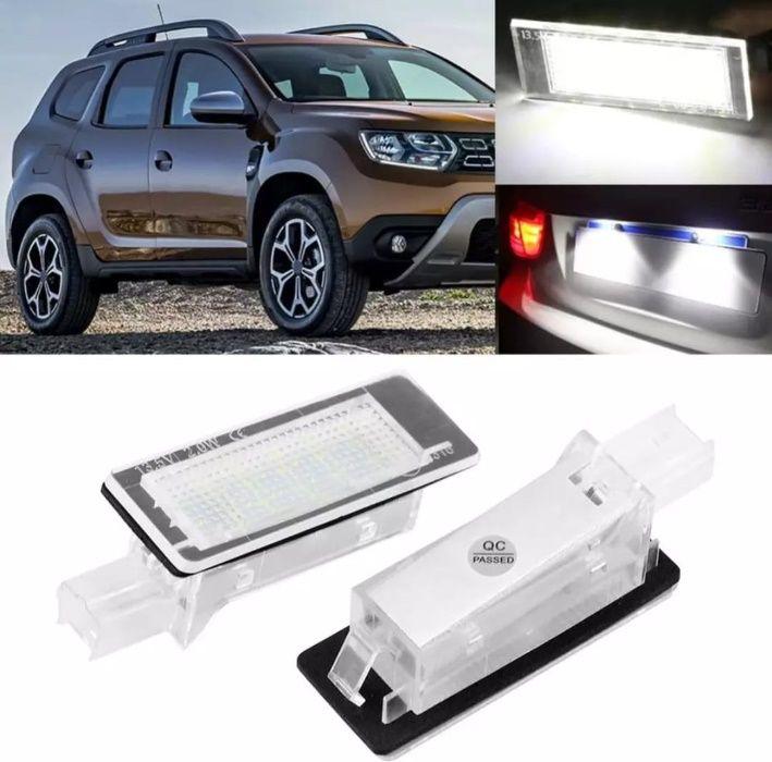 Lampa Numar Led Dacia Duster Logan Renault Megane Clio Laguna Fluence Bucuresti - imagine 1
