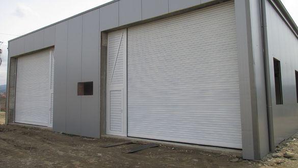 Охранителни гаражни врати и индустриални врати