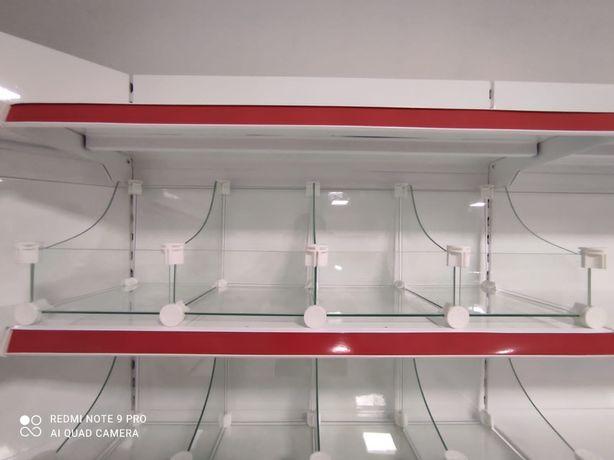 Торговые стеллажи для магазина, торговые витрины, для склада и архива