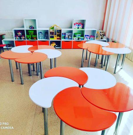 Кровати, шкафы, столы, стулья для детских садов в кредит через Каспий!