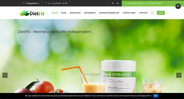 Vand Site Nutritie si Magazin Online