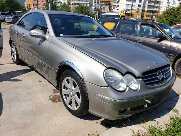 НА ЧАСТИ! Mercedes - benz CLK W209 2.7 CDI 170 кс. Автоматик Навигация