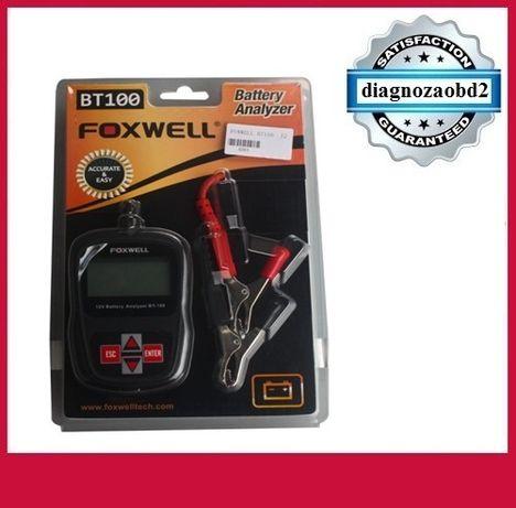 Tester digital pt. baterii auto FOXWELL BT100 PRO 12V LCD - AGM