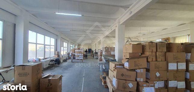 Spatiu productie/depozitare, 600 mp, h 4m, zona Piata 1 mai
