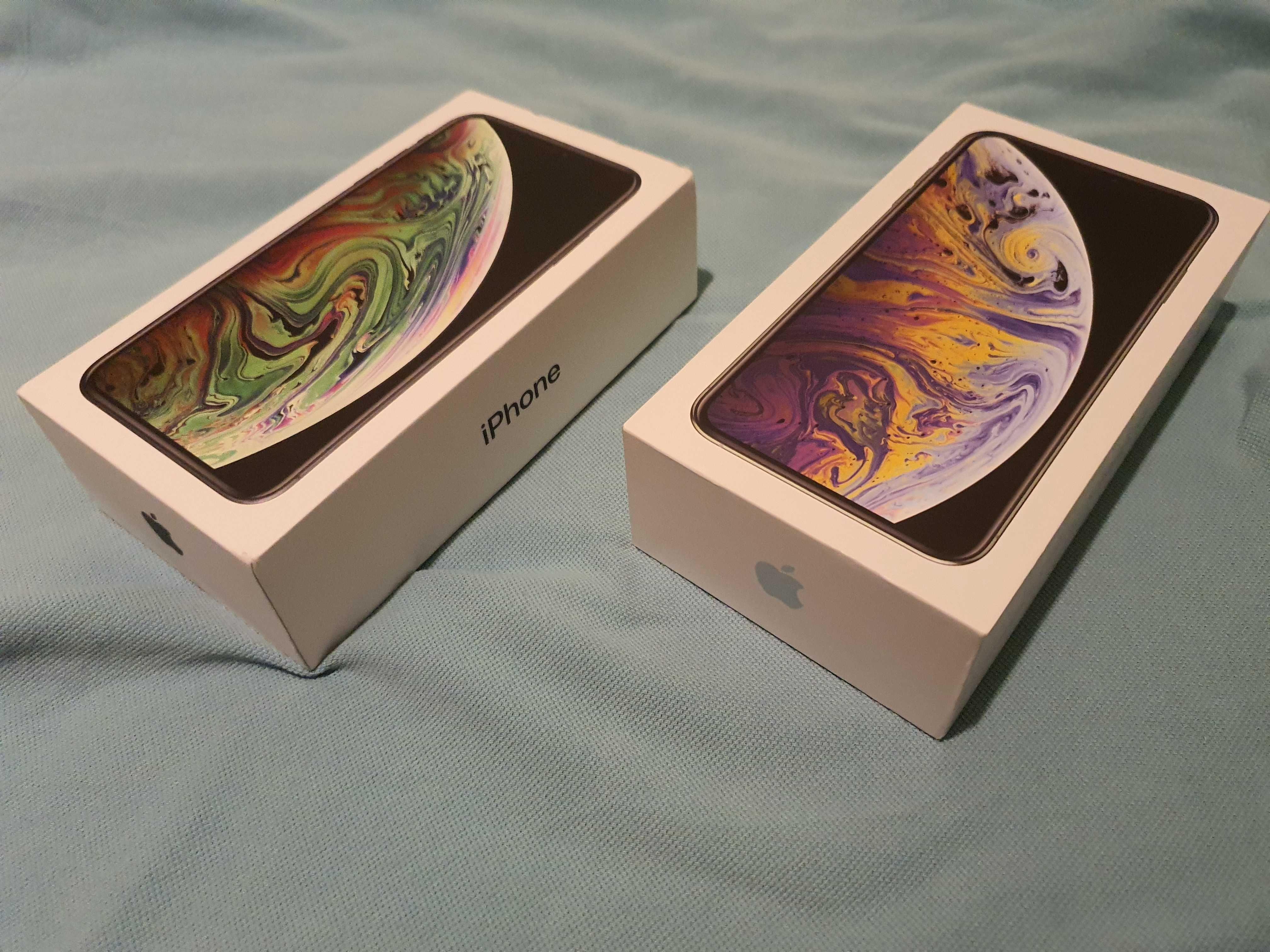 Iphone Xs Max 64gb NOU Silver/ Gray neverlocked, garantie Apple