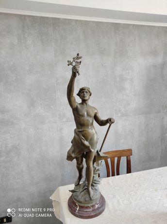Уникална Статуя на  Чарлз Теодор Перон  80см