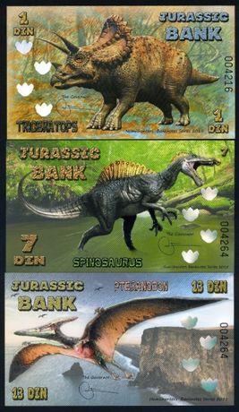 Лот банкноти полимер нови