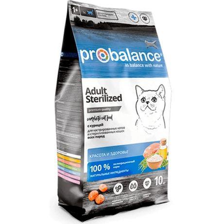Пробаланс для стерилизованных кошек и кастрированных котов