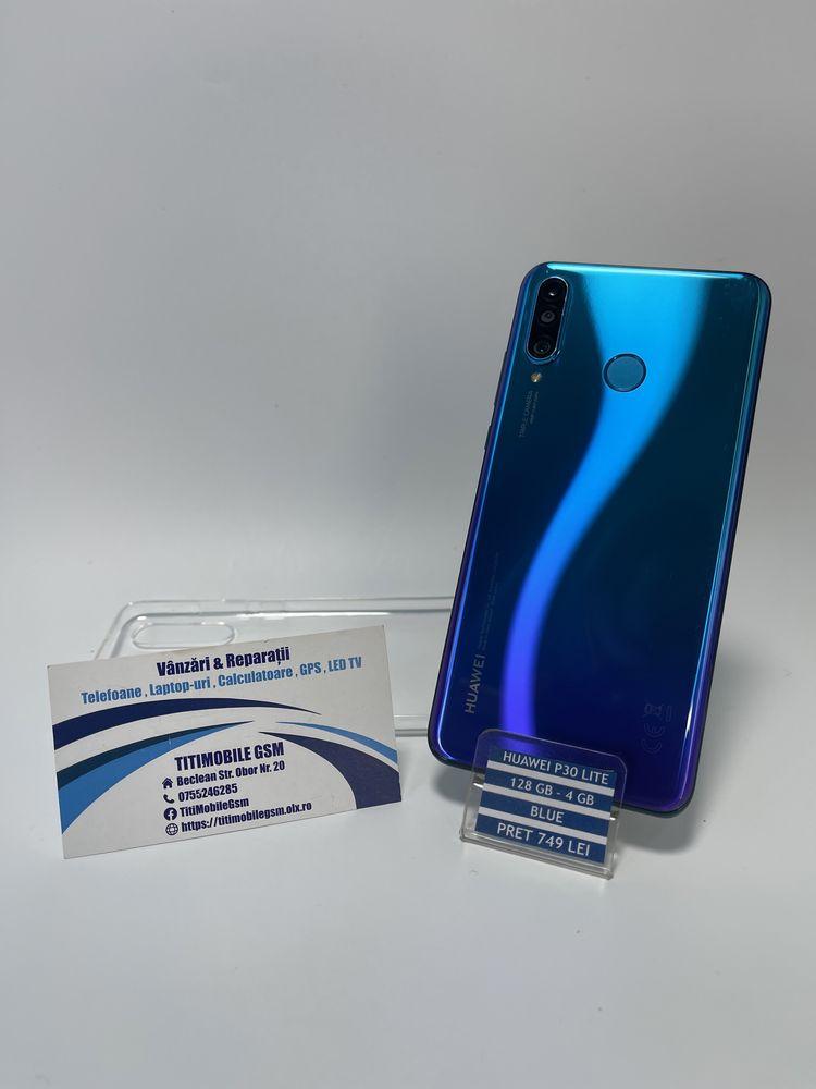 Huawei P30 lite blue 128 gb / 4 gb , Garantie • TitiMobileGsm