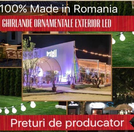 Ghirlande Luminoase Exterior,Producator,Ieftin,F Durabile,Bec Led