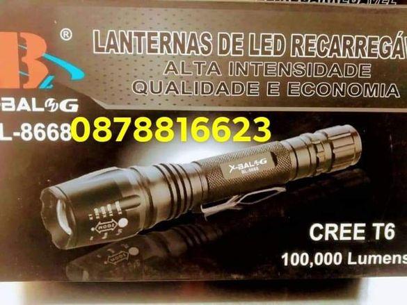 Фенер ,Lanternas de LED Recarrgavel BL 8668