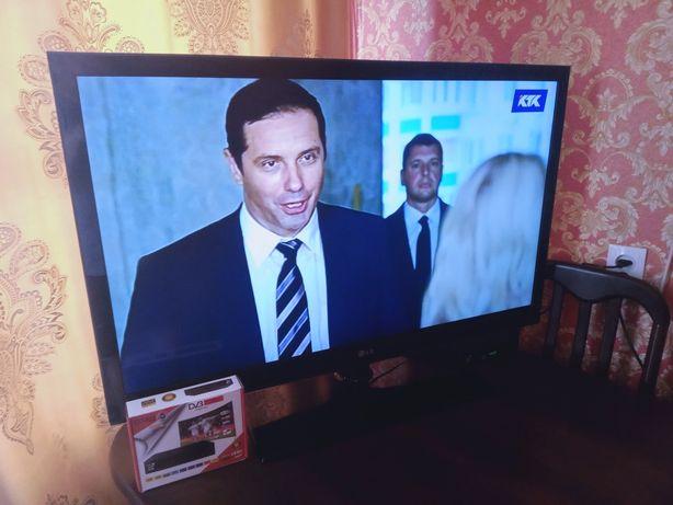 42 дюйма, большой, телевизор Lg, плюс Отау ТВ