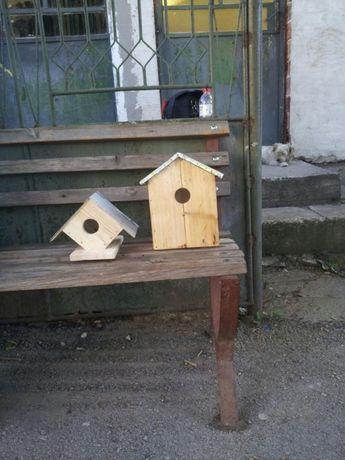 Изработка на къщички за птици и др.