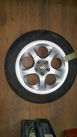 Alfa Romeo 147 - set 4 roti (jante si anvelope) 225/55/R16