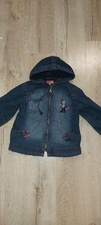 Джинсовая куртка утепленная Gloria Jeans на 4-7 лет
