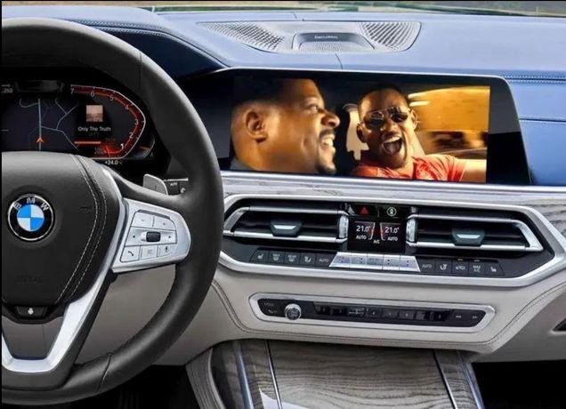 BMW Video in Mers CIC NBT NBTevo MGU G11 G30 X5 G05 X6 G06