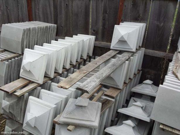 Capace pentru gard , Palarii , Capace din beton