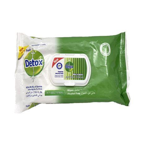 Servetele Igenizante, Dezinfectante cu efect antibacterian, Detox 80